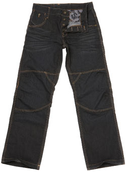 Black Coated Worker Jeans