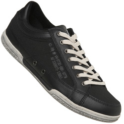 Black Cupsole Sports Trainers