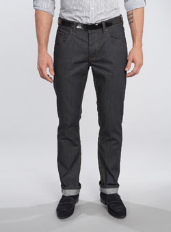 Black Label Dark Navy Slim Fit Denim Jeans