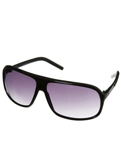Black Plastic Square Sunglasses