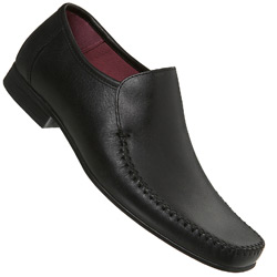 Black Slick Smart Loafer