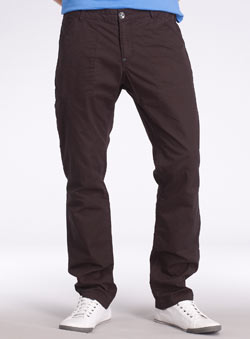 Black Tapered Utility Cargo Trousers