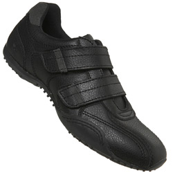 Black Two Strap Trainers