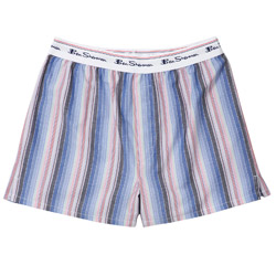 Blue Stripe Ben Sherman Boxer Underwear