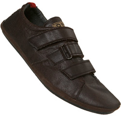 Brown Casual Triple Velcro