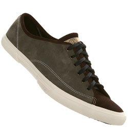 Brown/Grey Suede Lace Up Sports Shoe