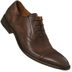 Brown Oxford Toe Cap