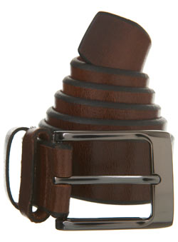 Brown Premium Leather Smart Casual Belt
