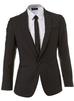 Brown Tonic Suit Jacket