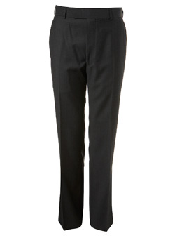 Charcoal Ben Sherman Textured Trousers