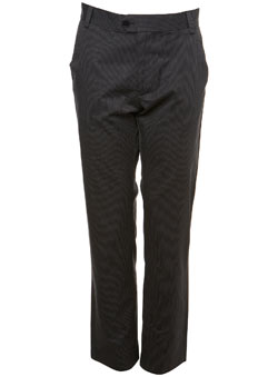 Charcoal Shadow Stripe Trousers