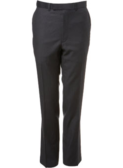 Charcoal Stripe Essential Suit Trousers