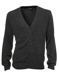 Charcoal Supersoft Knitted Cardigan