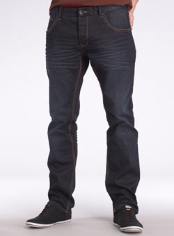 Dark Dlue Clean Denim