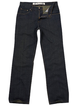Dark Wash 5 Pocket Jeans