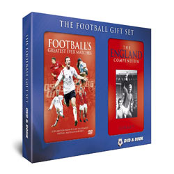 Football Book and DVD Gift