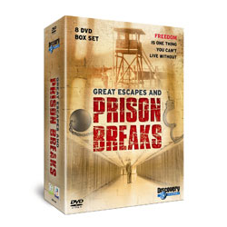 Great Escapes and Prison Breaks 8 DVD Box Gift Set
