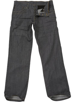 Grey Coated Premium Denim Jeans