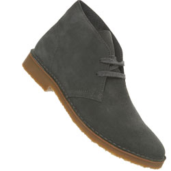 Grey Desert Suede Boot