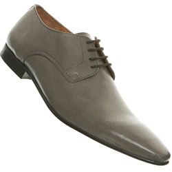 Grey Point Lace Up Shoes