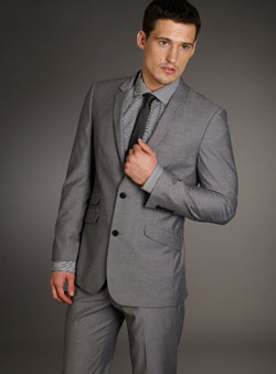 Grey Tonic Jacket