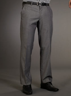 Grey Tonic Trousers
