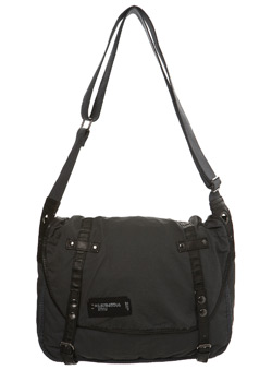 Grey Waxy Despatch Bag