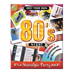 Host Your Own 80` Night Quiz Game