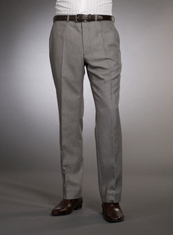 Light Grey Puppytooth Trousers