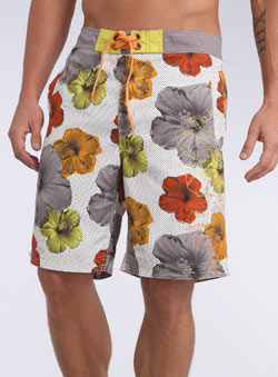 Multi Floral Swim Shorts