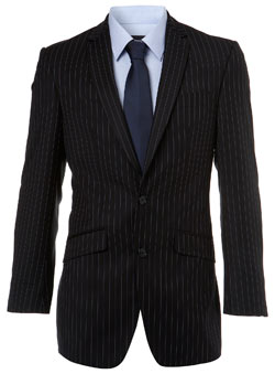 Navy Citystripe Essential Suit Jacket