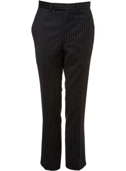 Navy Citystripe Essential Suit Trousers