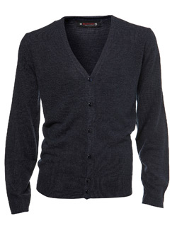 Navy Supersoft Knitted Cardigan