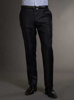 Navy Tonic Trousers