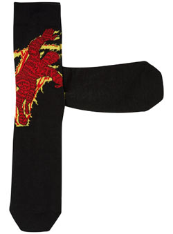 One Pack Human Torch Socks