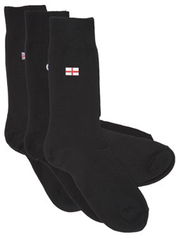 Pack of 3 St. George Logo Socks