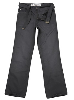 Pewter Bedford Cord Trouser