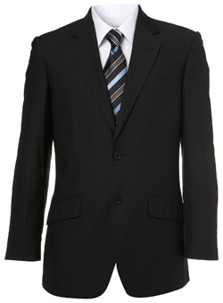 Plain Black Suit Jacket