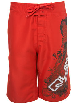 Quiksilver Red Boardshorts