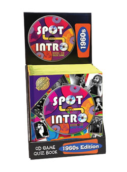 Spot the Intro 60` Book and CD Quiz Game