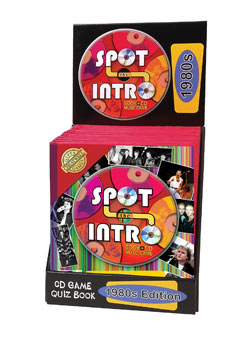 Spot the Intro 80` Book and CD Quiz Game