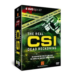 The Real CSI - Dead Reckoning 8 DVD Gift Box Set