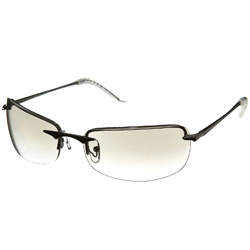 True Clear Rimless Sunglasses