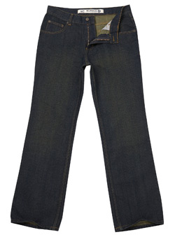 Vintage Wash Relaxed Denim Jeans