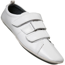 White Casual Triple Velcro