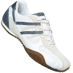White Lace Up Sport Trainer Shoe