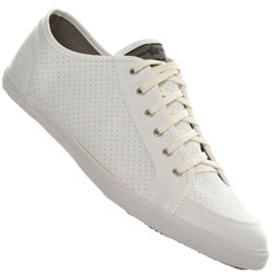 White Lace Up Sports Shoes