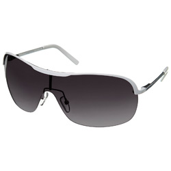 White Visor Sunglasses
