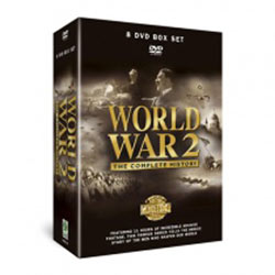 World War 2 - The Complete History 8 DVD Gift Box Set