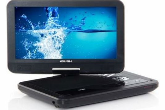 10`` Portable Swivel DVD Player (Black)